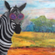 zebra, glasses, lunettes
