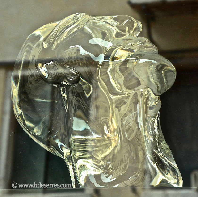 glass head tete en verre